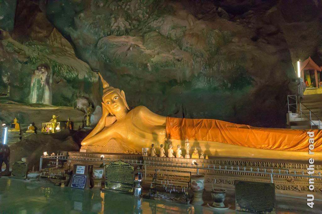 Bild Grosser Buddha im Höhlentempel - Wat Suwan Kuha