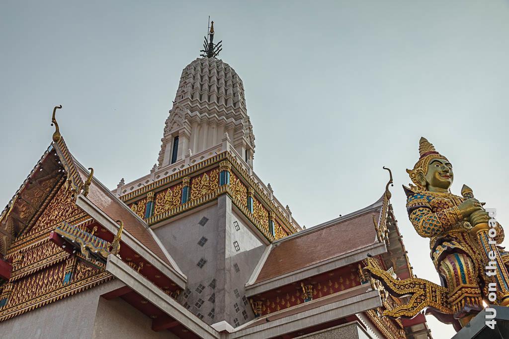 Bild Moderner Tempelbau - Wat Phutthaisawan Ayutthaya