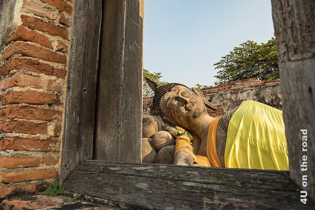 Bild Ruhender Buddha - Wat Phutthaisawan, Ayutthaya