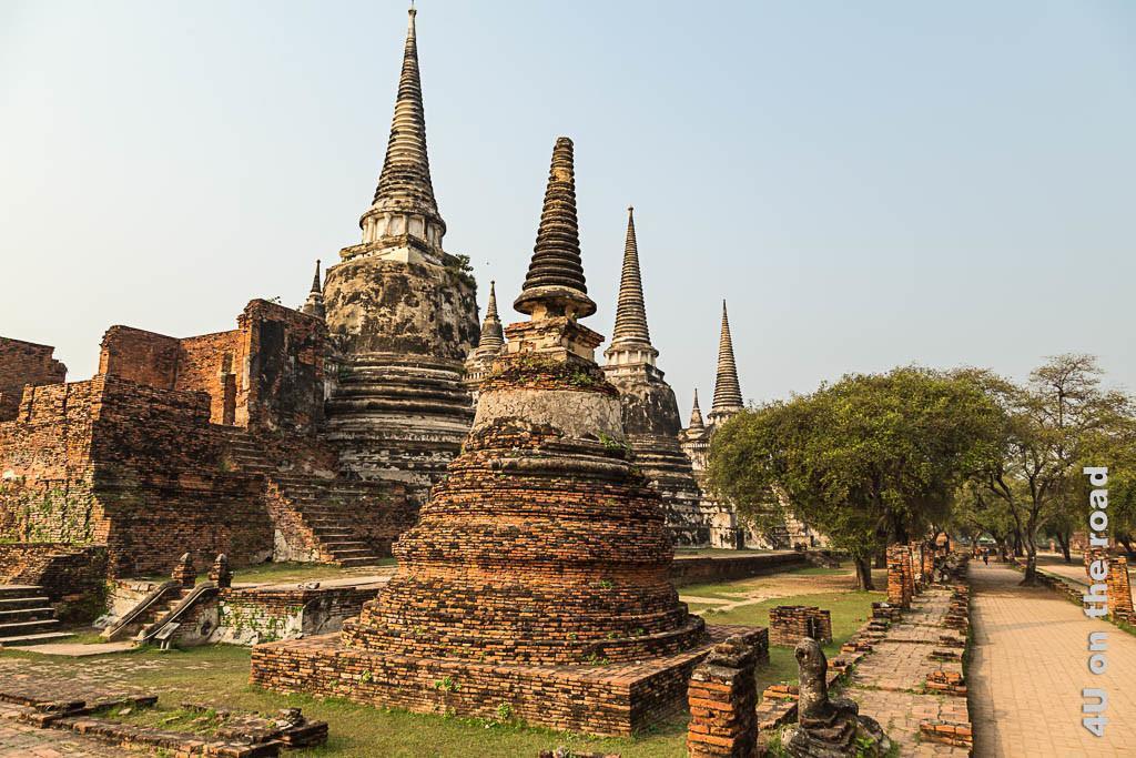 Bild 1 Wat Phra Si Sanphet - Ayutthaya