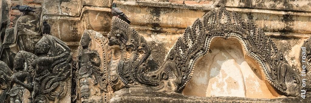 Bild Bildhauerkunst Historical Park Sukhothai