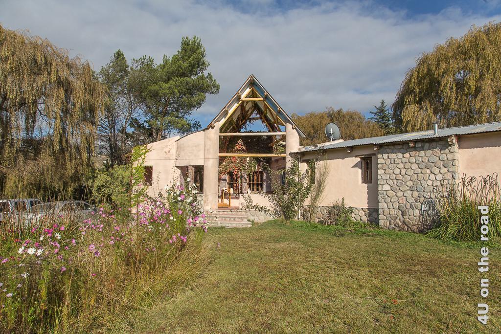 Bild Das schöne Ökohaus unserer Gastgeber in Tafi del Valle.