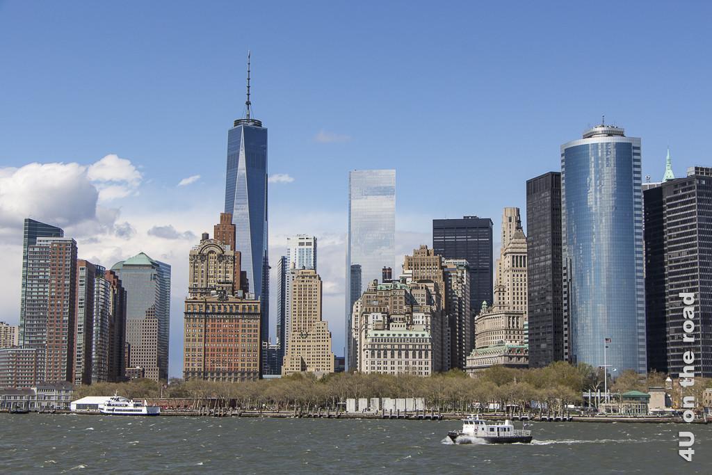 Bild Baustile im Wandel der Zeit, New York, zeigt alte und neue Hochhäuser