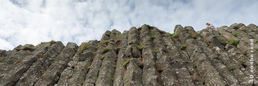 Giants Causeway - Basaltformation wie Orgelpfeifen