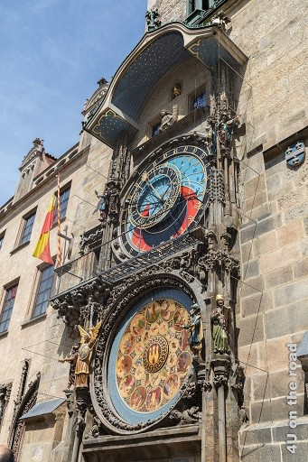 Bild Berühmte Rathausuhr, Prag