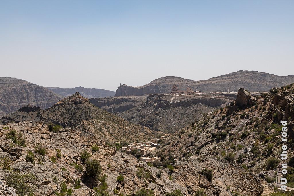 Beeindruckende Bergwelt am Jebel Al Akhdar