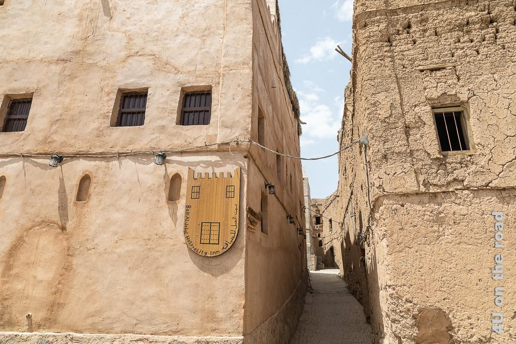 Al Hamra - beim Stadtrundgang entdecken wir ein Gasthaus