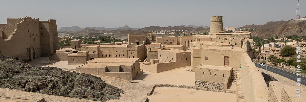 Im Bild eine Festung zur Illustration der Oman Einreise bzw. der Beantragung des Oman e-Visum
