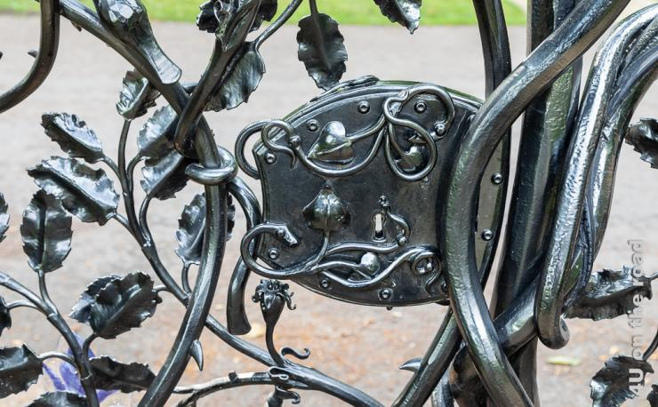 Ranken Tor im Formalen Garten von Schloss Alnwick Gardens