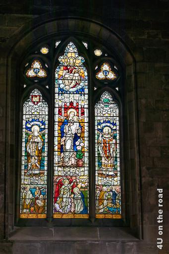 Culross - Abbey Bleiglasfenster