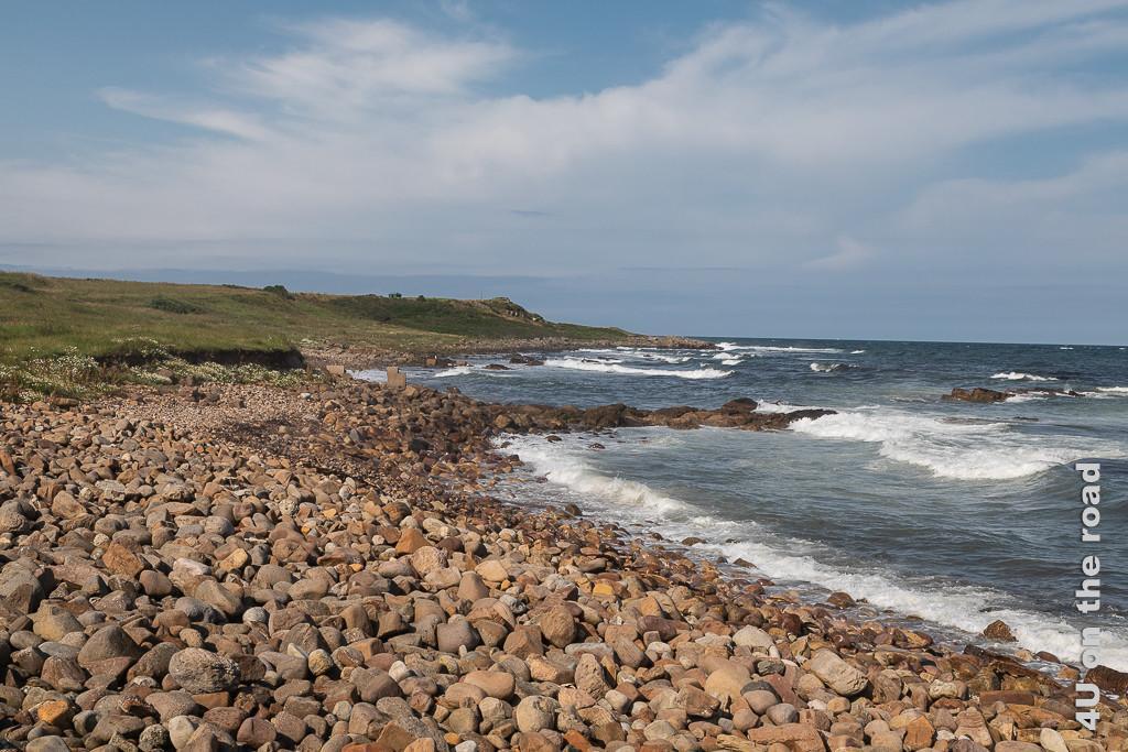 Blick nach Norden - Kilminning Coastal Wildlife Reserve, Region Fife an der Kilminning Coast