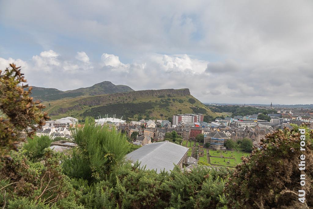 Edinburgh - Calton Hill - Blick auf Arthur's Seat