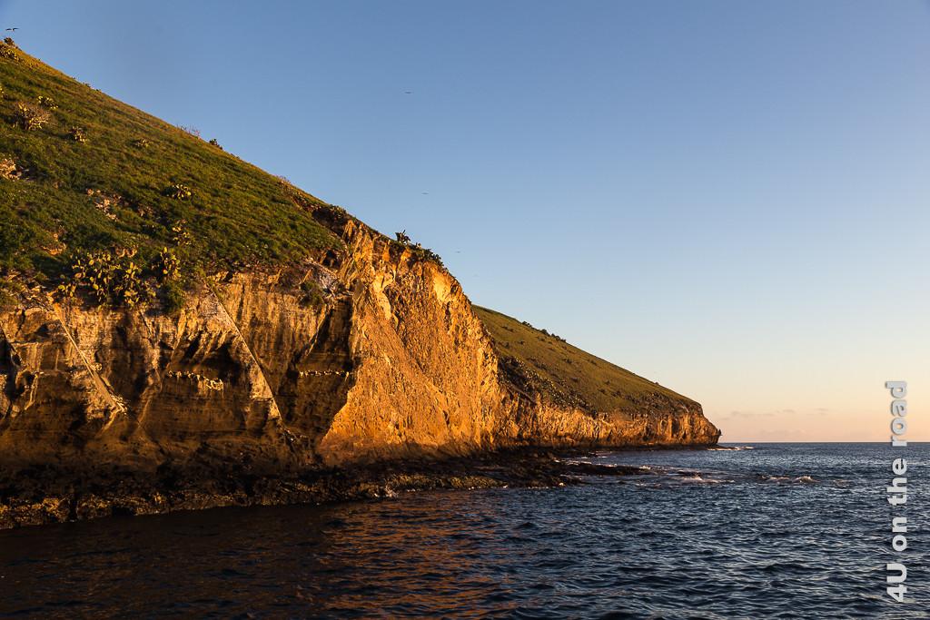 Daphne Mayor - Vogelfelsen zum Sonnenaufgang, Galápagos Inseln, Galápagos Kreuzfahrt