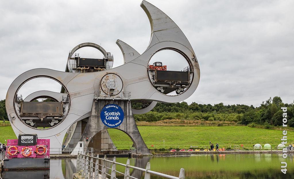 Falkirk Wheel in Aktion - Reisetipps