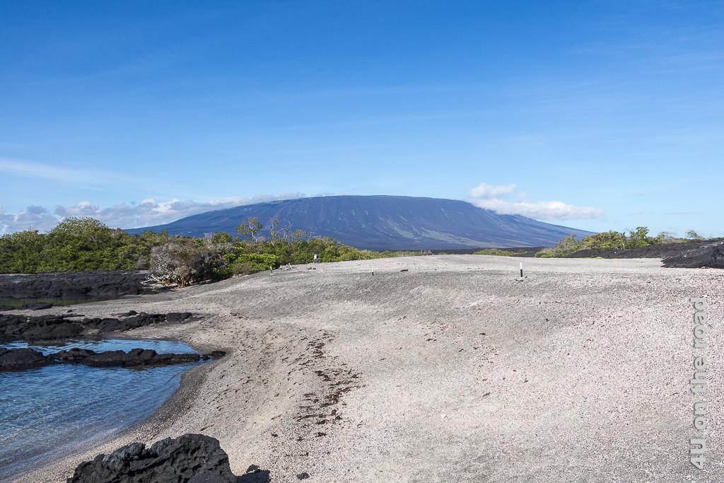 Auf der Insel Ferdinandina, Galápagos Inseln