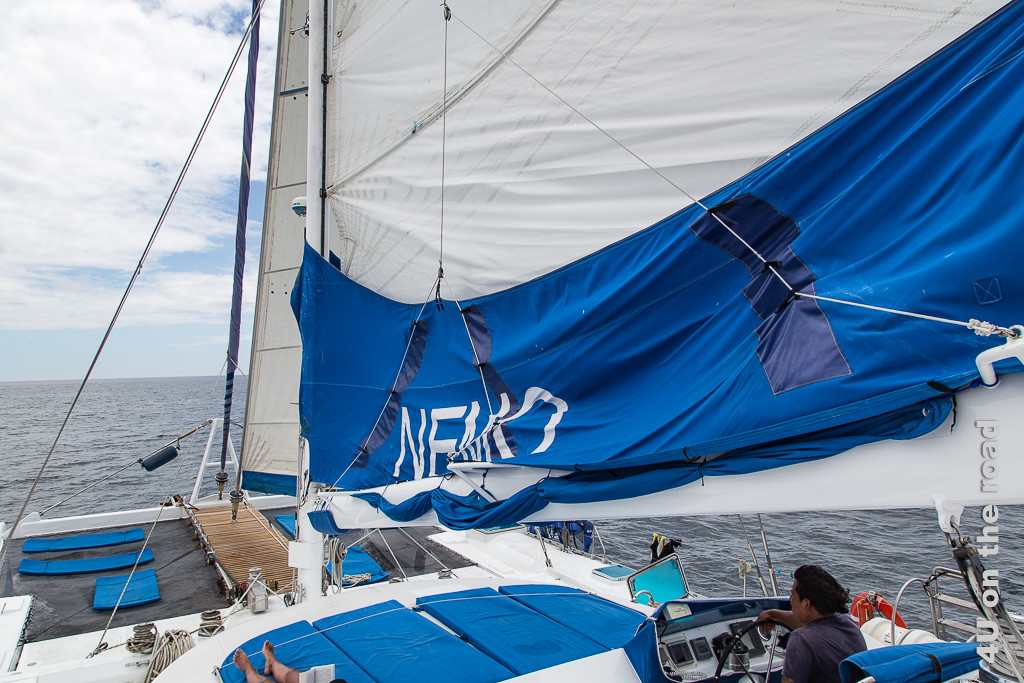 Nemo I unter Segeln - Kreuzfahrt Galápagos