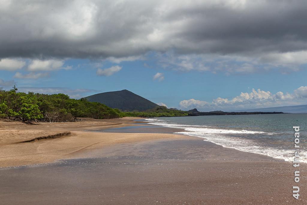 Espumilla Beach - Insel Santiago, Galápagos Inseln