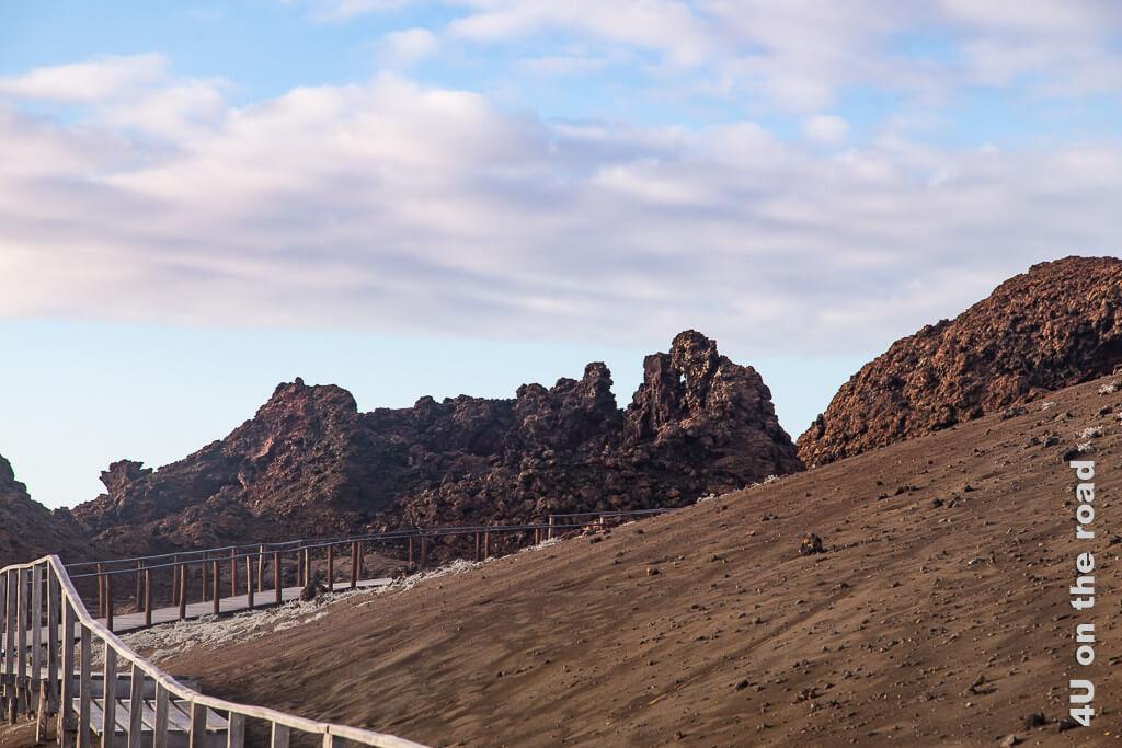 Aufstieg zum Aussichtspunkt auf Bartolomé - Reisebericht Galápagos Kreuzfahrt