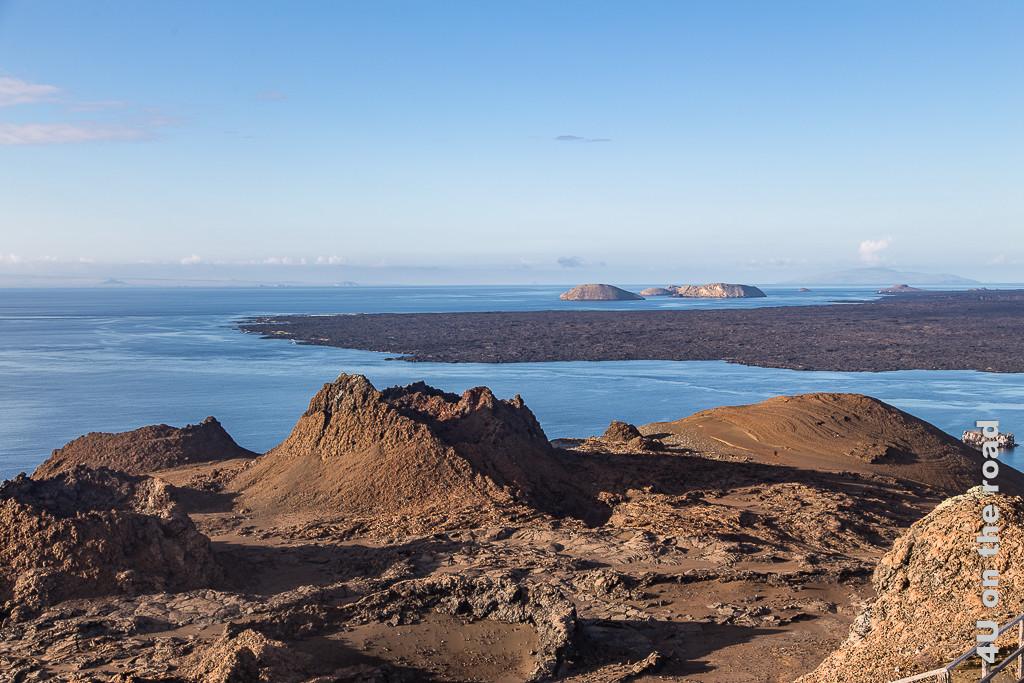 Krater auf Bartolomé - Reisebericht Galápagos Kreuzfahrt