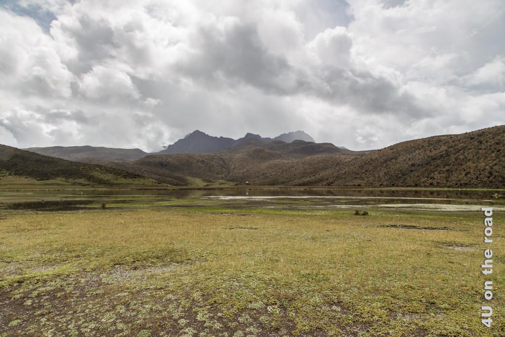 Die Laguna Limpiopungo im Cotopaxi Nationalpark