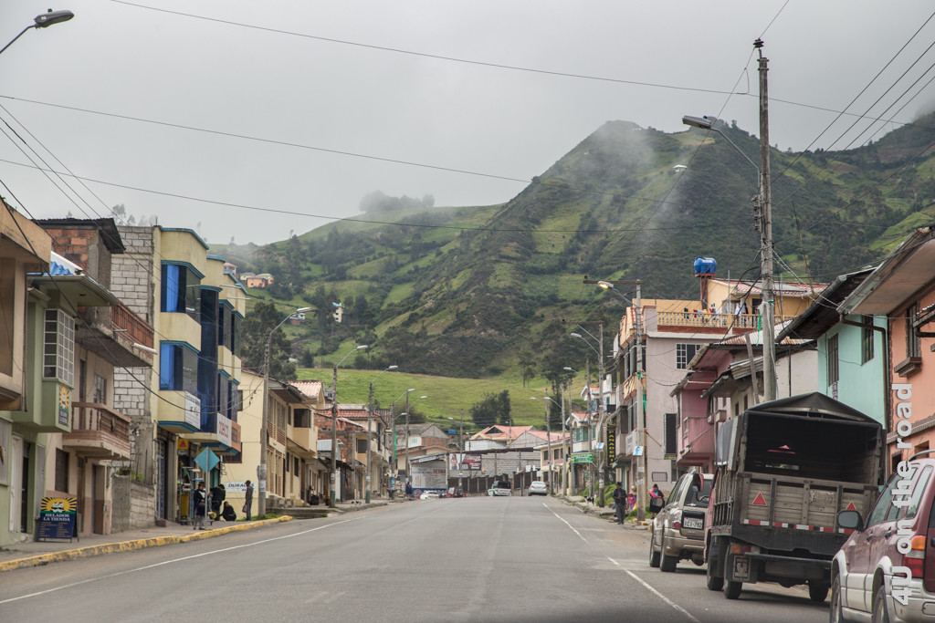 El Tambo - ein grösserer Ort am Wegesrand