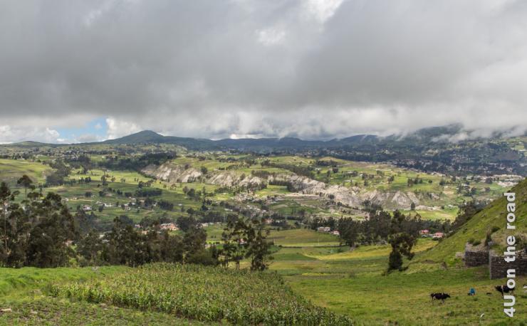 Feature Bild auf dem Weg von Ingapirca zum Chimborazo