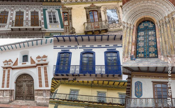 Cuenca Fassaden