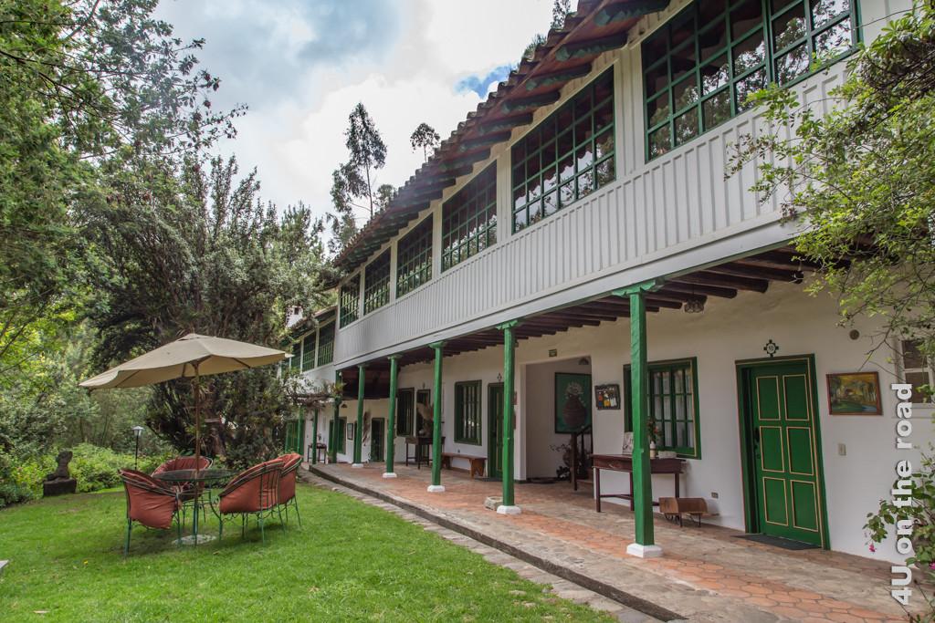 In diesem Teil der Posada Ingapirca befinden sich die Gästezimmer