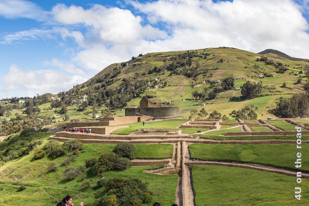 Die Ruinen von Ingapirca