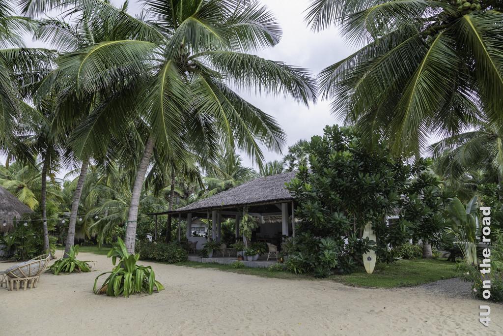 Rascals Kite Resort - gedeckter Essplatz