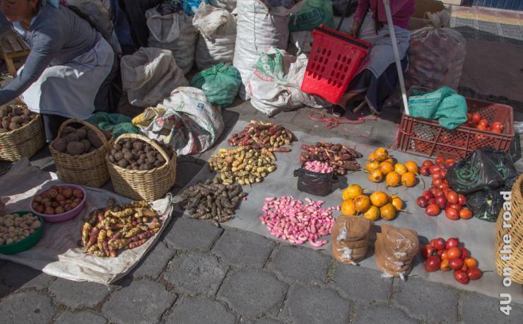Feature Bild Samstags Markt in Otavalo