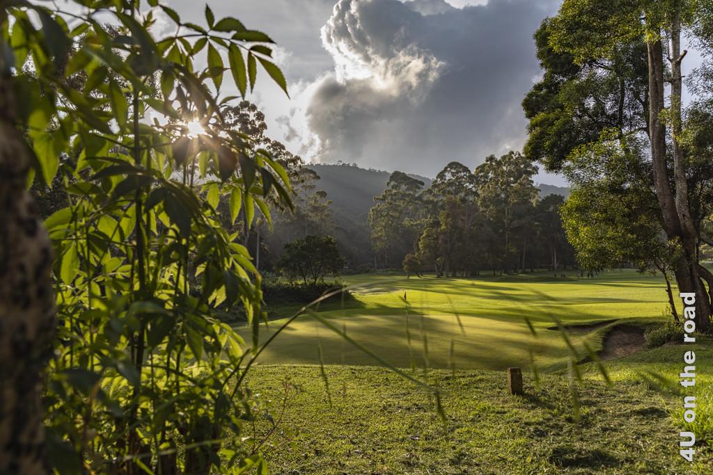 Golfplatz von Nuwara Eliya - Golfspielen ist in Sri Lanka nur für Wohlhabende
