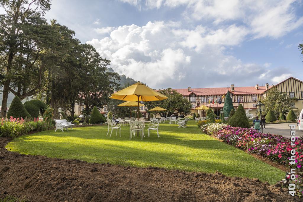 Grand Hotel aus Kolonialzeiten - Nuwara Eliya