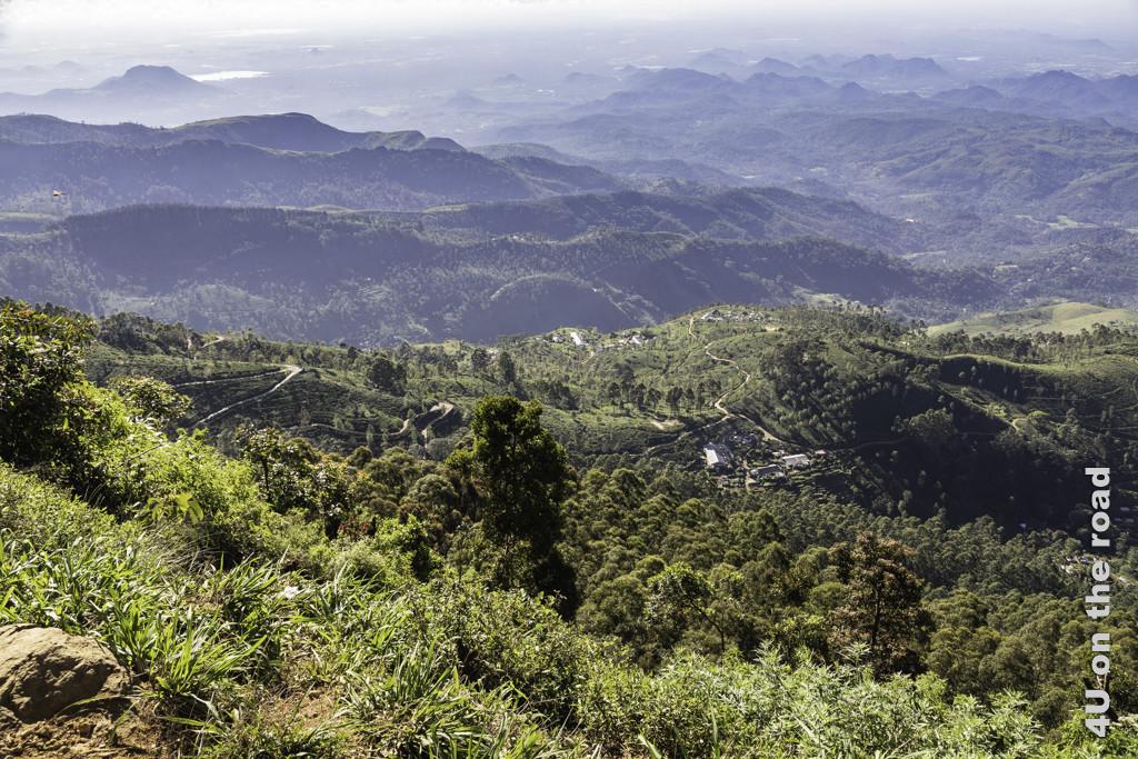 Hügel, Tee und Dörfer - auf dem Rückweg von Lipton's Seat