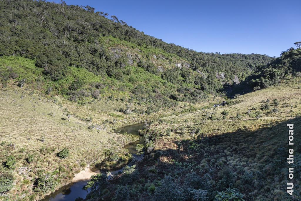 Blick in Richtung Baker's Falls - Horton Plains Nationalpark