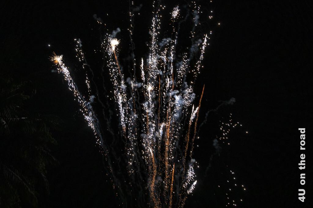 Feuerwerk im Talalla Retreat
