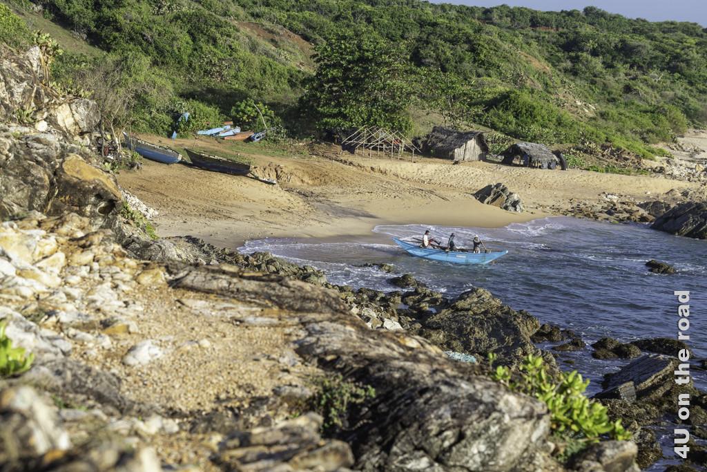Rückkehr der Hummerfischer an Land - Bundala Nationalpark