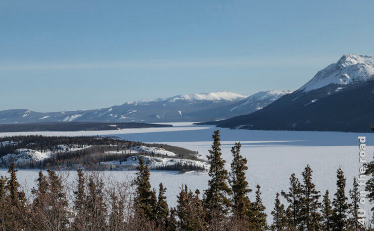 Feature Yukon im Winter
