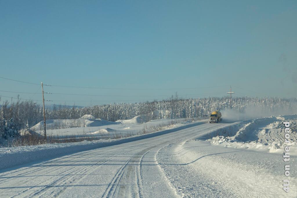 Auf dem Weg nach Dawson City
