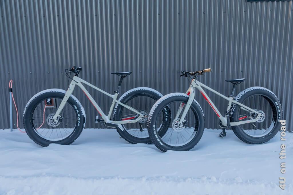 Fahrräder zum Fahren im Schnee - Boreale Ranch