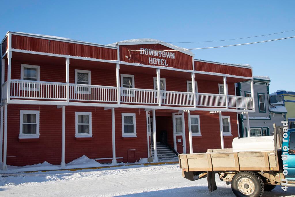 Nebengebäude des Downtown Hotels in Dawson City