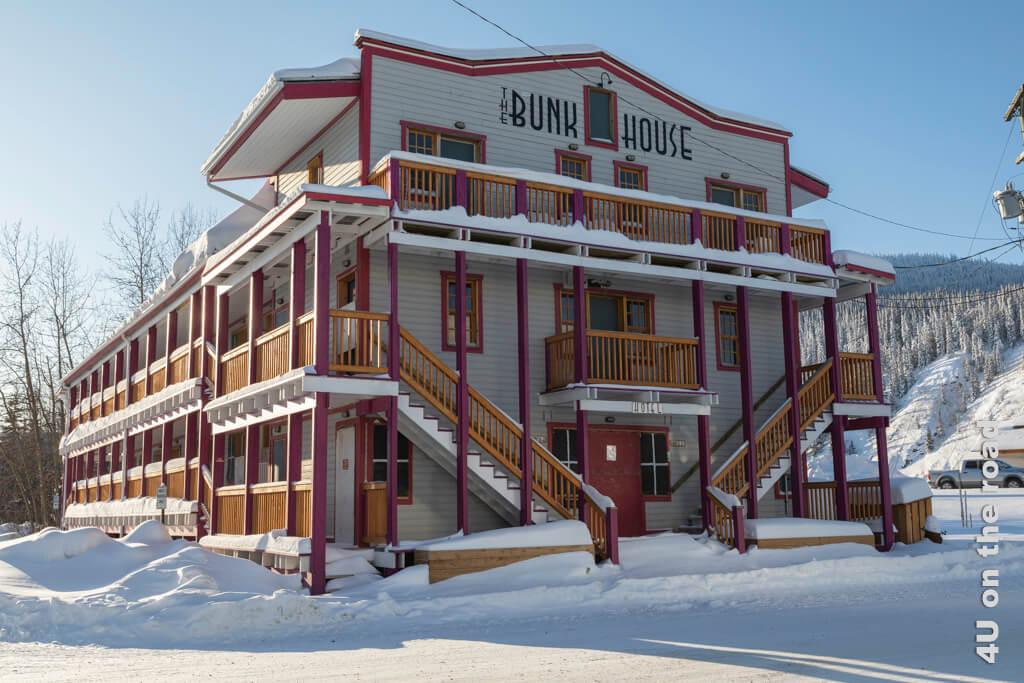 Rustikales Hotel in Dawson City