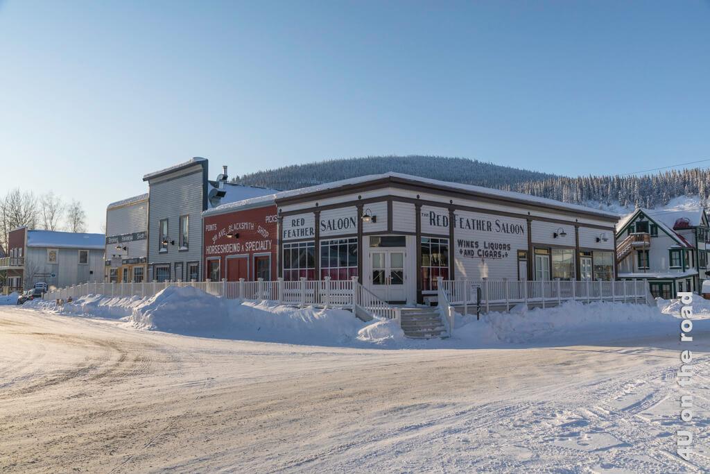 Gebäudekomplex in Dawson City