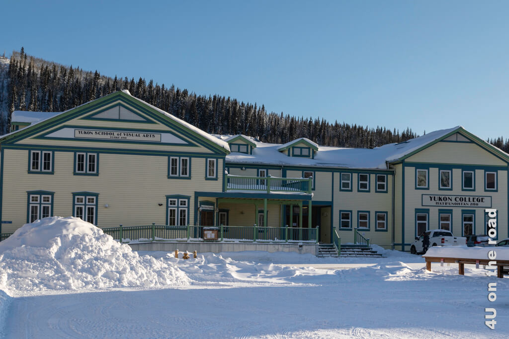 Die Schule in Dawson City
