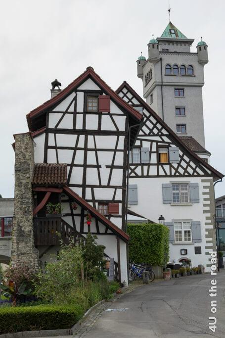 Haus an der alten Stadtmauer in Arbon