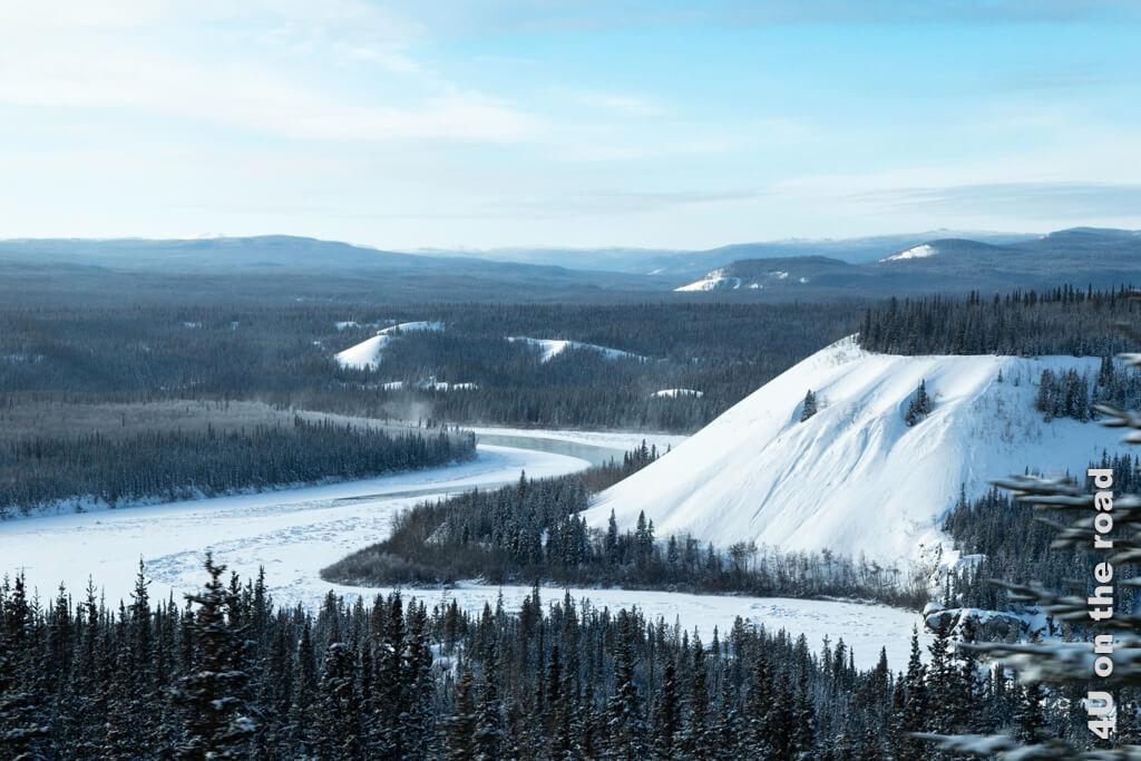 Was für eine Landschaft! Von Dawson City nach Whitehorse.