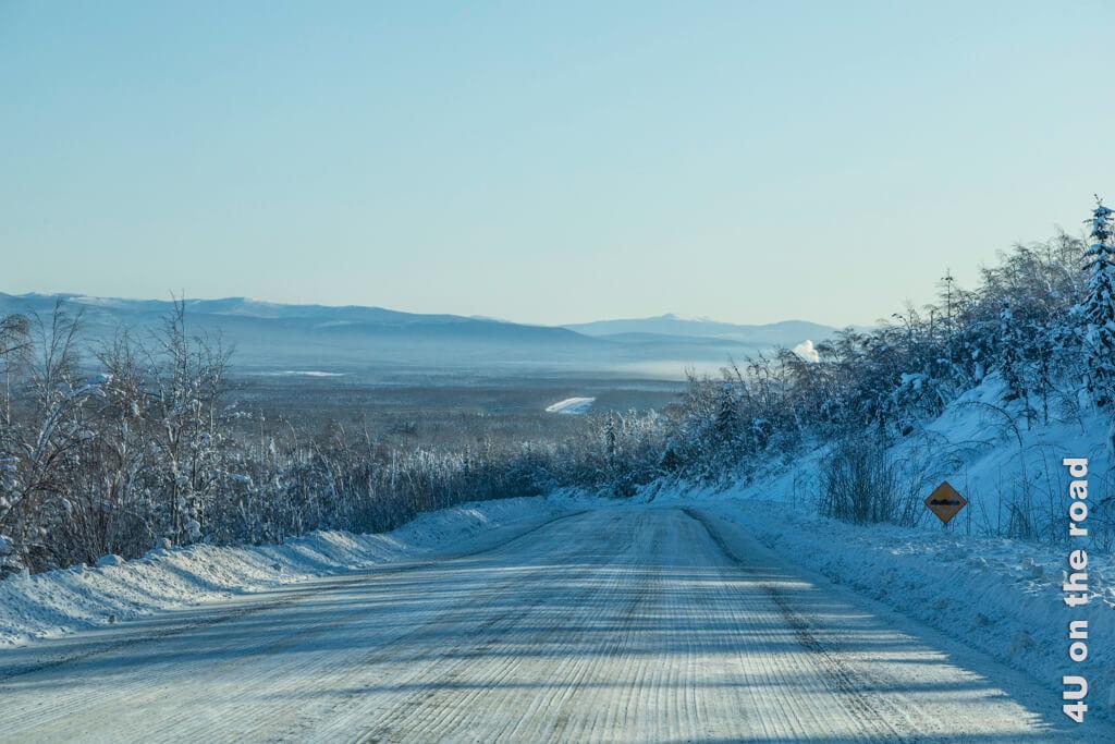 Unterwegs von Dawson City nach Whitehorse