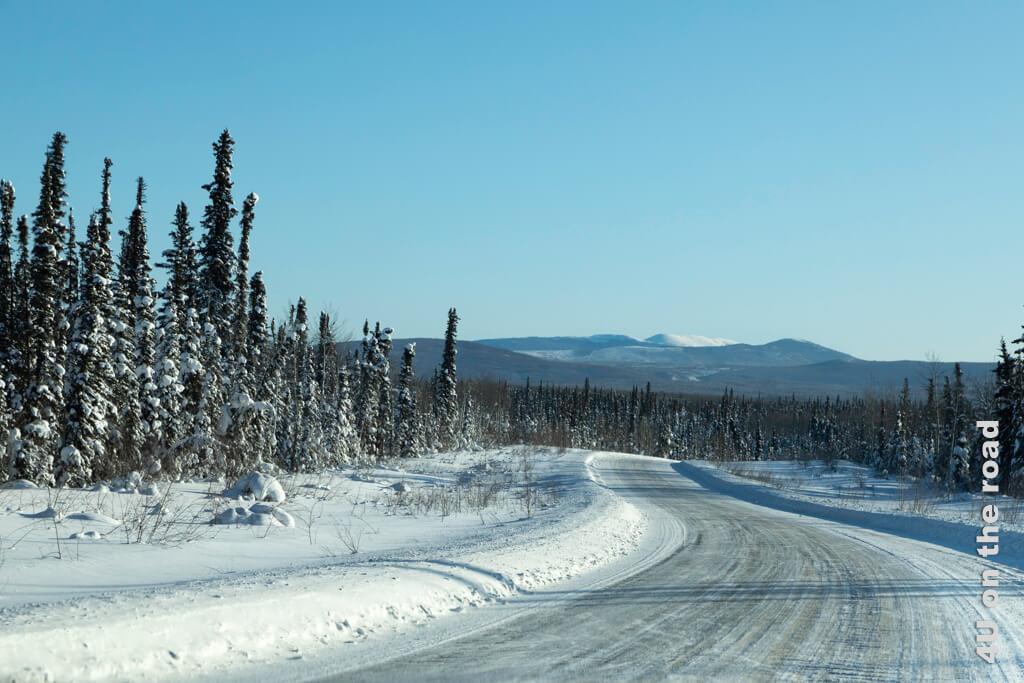 530 km endlose Weite zwischen Dawson City und Whitehorse