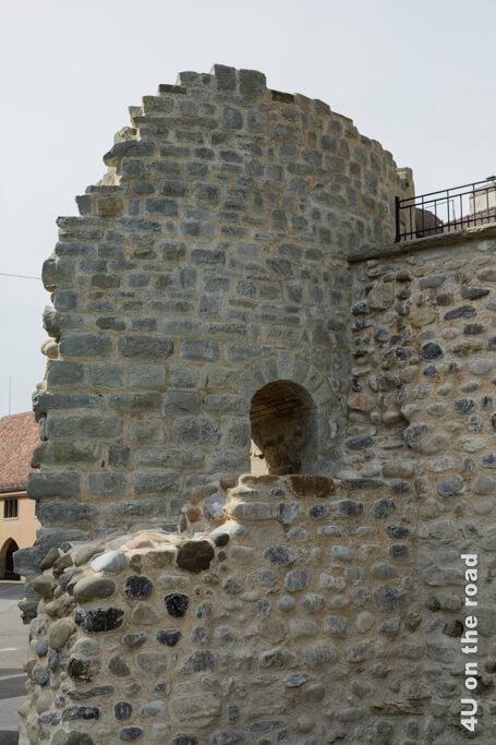 Teil der alten Stadtmauer Arbon