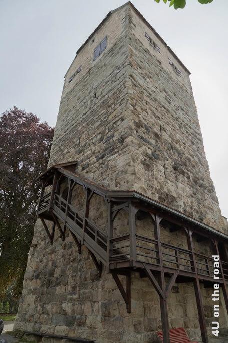 Eingang zum mittelalterlichen Wohnturm - Arbon